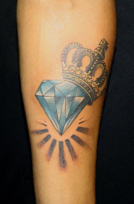 Co Robi Tatuaż Diament