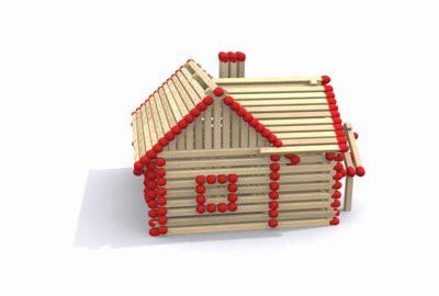 wie ein haus aus streichh lzern machen herstellung des haus der spiele mit seinen eigenen h nden. Black Bedroom Furniture Sets. Home Design Ideas