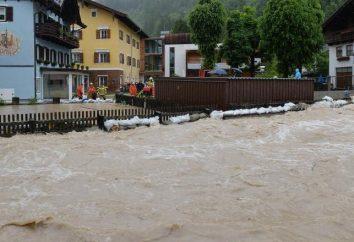 Reglas de conducta en la inundación: mantener la calma y se preparan para la evacuación