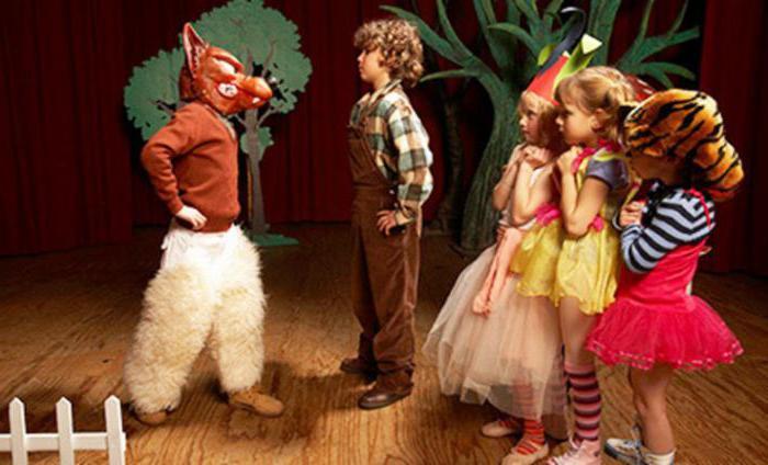 theaterspielen für kindergartenkinder
