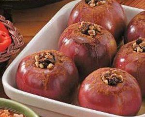 Jak szybko i smacznie piec jabłek z miodem w piecu?