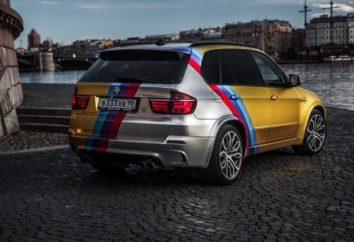 Złoto BMW H5M Eric Davidovicha: specyfikacja i cechy samochodu