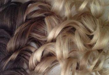 Sfumature di colore dei capelli castano chiaro: mette in evidenza francesi