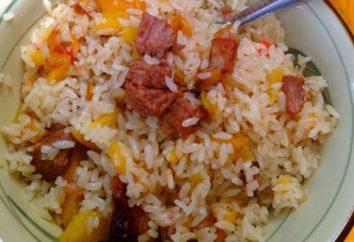 pasti senza carne di riso: ricette