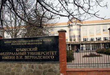 Krymski Uniwersytet Federalny. opinie