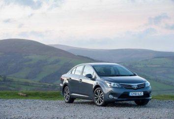 Nouvelle gamme 2013e, « Toyota Avensis »: avis des propriétaires et l'examen de voiture