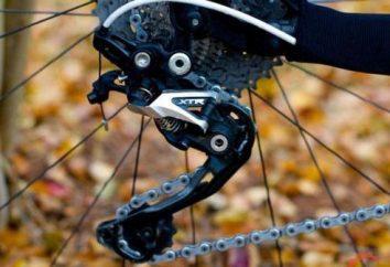 Cadeia de bicicleta: dimensões de acordo com modelo de bicicleta, instalação, ajuste