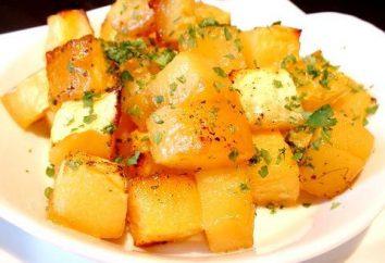 plat sain – citrouille cuite au four. recette