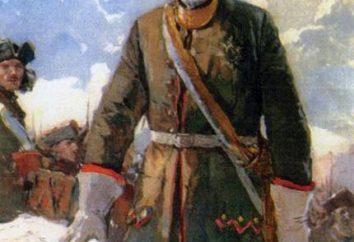 """Image de Pierre 1 dans le poème """"Poltava"""" Pushkina A. S."""
