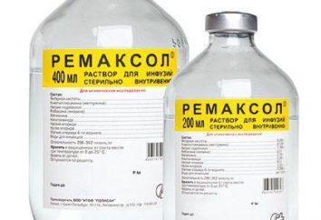 """""""Remaxol"""": instrukcje użycia, informacje zwrotne"""