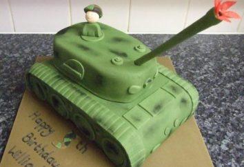 """Ciasto """"Tank"""" – goście niespodzianka! Jak zrobić tort w kształcie zbiornika?"""