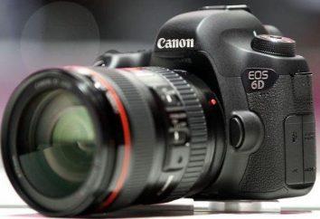 Appareil photo Canon 6D corps: spécifications, commentaires