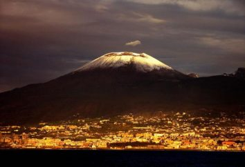 Le volcan le plus célèbre dans le monde. les coordonnées géographiques Vesuvius