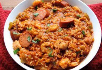 Jambalaya: recettes et caractéristiques de cuisine