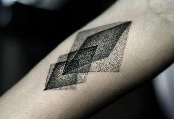 Tatuagens: formas geométricas. Significado tatuagem