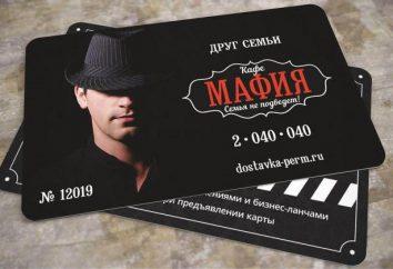 """Cafe """"Mafia"""" (Perm): descrizione, la consegna"""