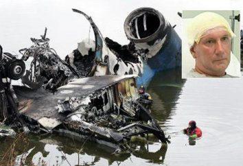 Alexander Sizov – o único sobrevivente de um acidente de avião perto de Yaroslavl