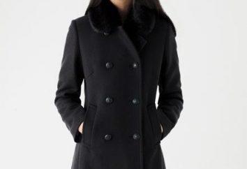 Doble-pecho abrigo – hermosa, elegante, cálido
