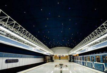 Le système actuel métro de Minsk