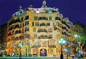 Casa Mila in Barcelona: Beschreibung, Geschichte, Fotos