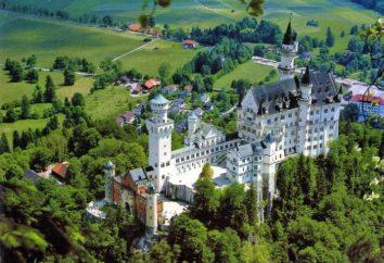 Château en Allemagne – le monde moderne du passé