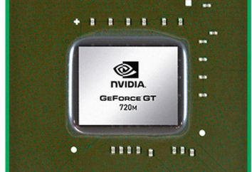 NVIDIA GeForce GT 720m. NVIDIA GeForce GT 720m karta graficzna