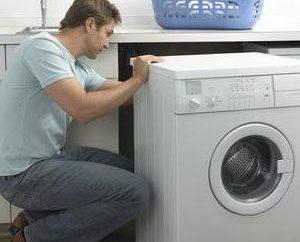 lavatrice non scarica: il motivo e la sequenza di azioni