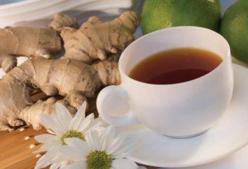 ¿Qué es los beneficios del té con jengibre?