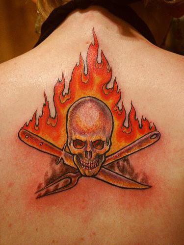 Płomień Tatuaż Znaczenie