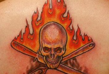 """Tattoo """"Fire"""": la valeur"""