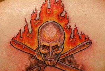 "Tattoo ""Fire"": o valor"