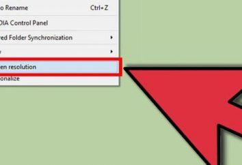 """Jak zmienić rozdzielczość ekranu na """"windose 7"""": pełne instrukcje"""