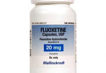 """Che cosa è """"Fluoxetina""""? """"Fluoxetina"""": gli effetti collaterali e analoghi. Come interagire """"Fluoxetina"""" e alcol?"""