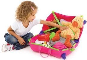 I bambini valigia per le ragazze – è una buona idea per i tuoi viaggi!