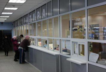 11 Rezeption Kliniken, Ryazan: Betriebsart, Telefon für die Kommunikation