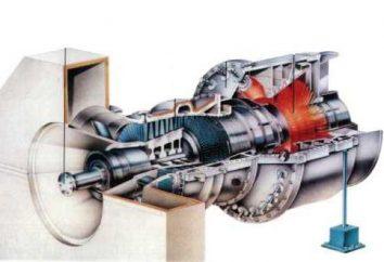 centrali elettriche turbina a gas. centrale a turbogas mobile