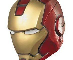 Wie man eine Maske machen aus Papier Iron Man: Ausführliche Beschreibung
