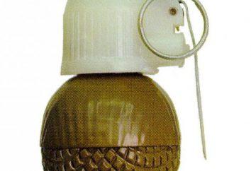 grenade RGO: Spécifications