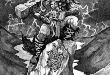Hammer dio Thor – le armi leggendarie provengono dalla Scandinavia. Significato fascino e immagine Tatuaggio il martello di Thor