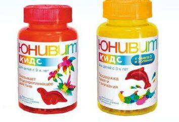 """Vitamine """"Univ Kids"""": istruzioni per l'uso, la composizione, recensioni"""