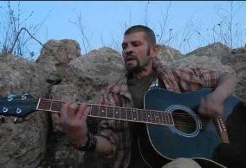 "Konstantin Stupin – vocalista da banda ""cana-de-Noite"""