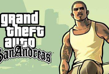 I personaggi di GTA: San Andreas. giochi per computer