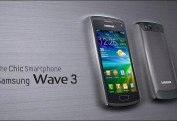 Samsung Wave 3 smartphone: przegląd, funkcje i opinie