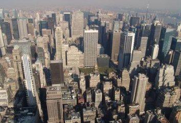 obszary administracyjne Nowym Jorku