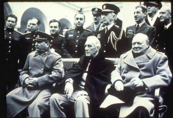 Conférence de Yalta: les résultats de la Seconde Guerre mondiale et les nouvelles frontières de l'Europe