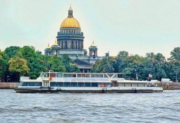 Idąc wzdłuż Newy. wyjazdy rzeka w Petersburgu: cena