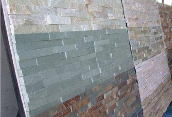 Kamrok (pedra artificial): preço, fotos, comentários. Decorar com pedra artificial