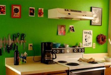 Cuisine verte dans votre maison