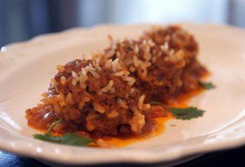 Ricci di carne macinata – semplici, ma molto interessanti