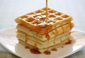 Receptura dla grubych wafli elektrovafelnitsy. recepty testowe do gofrów
